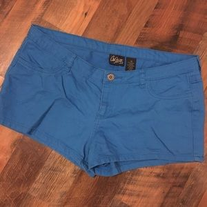City streets 13 blue shorts